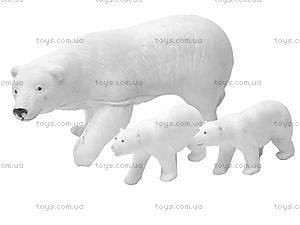 Набор животных «Белые медведи», 6702A
