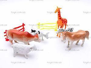 Набор животных для детей, 998-12