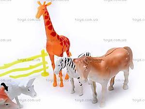 Набор животных для детей, 998-12, игрушки