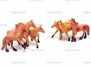 Набор животных «Лошади», F044, фото