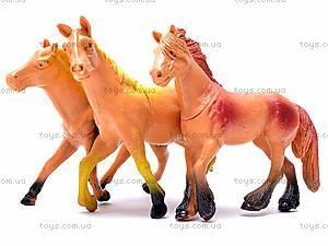 Набор животных «Лошади», F044, игрушки