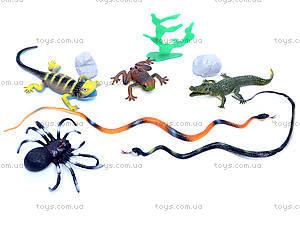 Набор животных «Природа» 9 видов, НВ2580