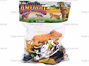 Набор животных «Сафари», A586/6, детские игрушки