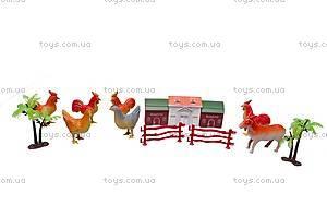 Набор животных в рюкзаке, 589-6, купить