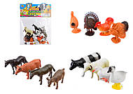 Набор животных с фермы, HB971012, отзывы