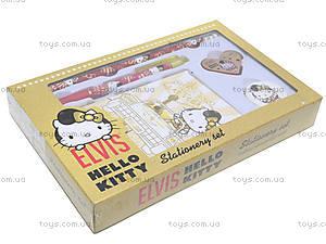 Канцелярский набор с записной книжкой Hello Kitty Elvis, HKAP-US1-360, фото