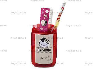 Набор канцелярский настольный Hello Kitty Elvis, HKAP-US1-75409-H, купить
