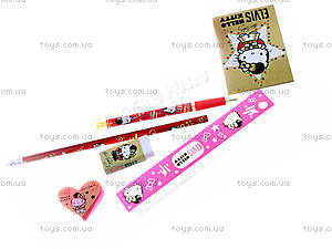 Набор канцелярский настольный Hello Kitty Elvis, HKAP-US1-75409-H, фото