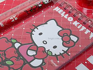 Набор канцелярский с блокнотом Hello Kitty, HK13-147К, купить