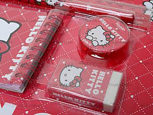 Набор канцелярский с блокнотом Hello Kitty, HK13-147К, фото