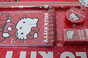 Набор канцелярский с блокнотом Hello Kitty, HK13-147К, отзывы