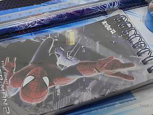 Набор канцелярский с блокнотом Spider Man, SM14-147K, фото
