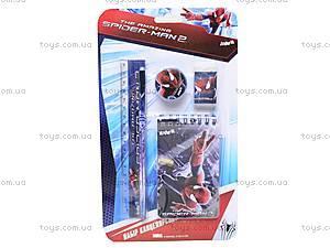 Набор канцелярский с блокнотом Spider Man, SM14-147K