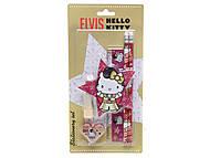 Набор канцелярский с ластиком в форме губной помады, HKAB-US1-75621-BL, toys
