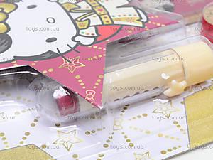 Набор канцелярский с ластиком в форме губной помады, HKAB-US1-75621-BL, фото