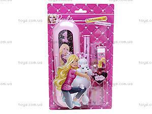 Набор канцелярский с пеналом «Барби», BRAB-US1-7514-BL