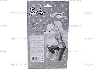 Набор канцелярский с пеналом «Барби», BRAB-US1-7514-BL, фото