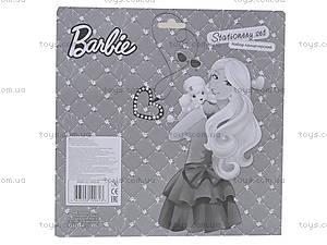 Набор канцелярский с записной книжкой «Барби», BRAB-US1-9932-BL, купить