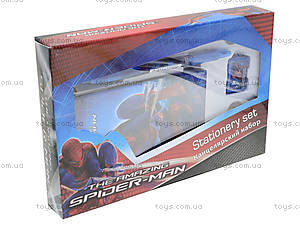 Набор канцелярский с записной книжкой «Человек-паук», SM4U-12S-360, фото