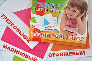 Набор карточек «Цвета и формы», 951303