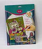 Творческий набор для малышей «Картина с пайетками», 13530, купить