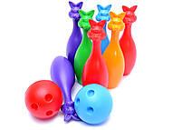 Набор «Кегли», с шарами, 024, игрушка