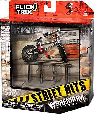 Набор коллекционных моделей велосипедов BMX с препятствиями, 12036-6014455-FT, купить