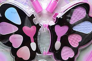 Набор косметики детской «Бабочка», 4019T, фото