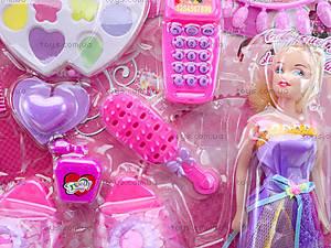 Набор косметики с куклой и туфельками, 888-92G, купить