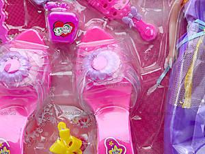 Набор косметики с куклой и туфельками, 888-92G, фото