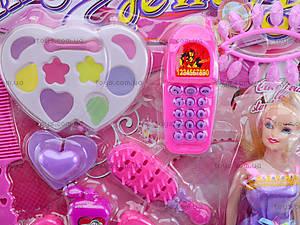 Набор косметики с куклой и туфельками, 888-92G, отзывы