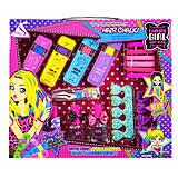 """Набор косметики и аксессуаров """"Fashion Girl"""", с 4-мя мелками для волос, J-506, детские игрушки"""