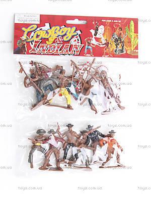 Игровой набор «Ковбои и индейцы», 94622
