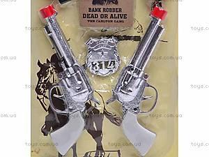 Набор ковбоя с двумя револьверами, 727V, фото