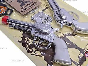 Набор ковбоя с двумя револьверами, 727V, игрушки