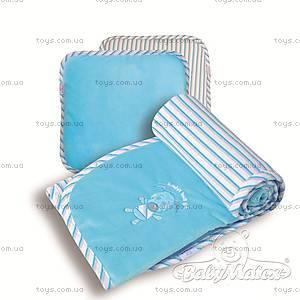 Набор одеяло и подушка Best Friend, голубой, 0192-31