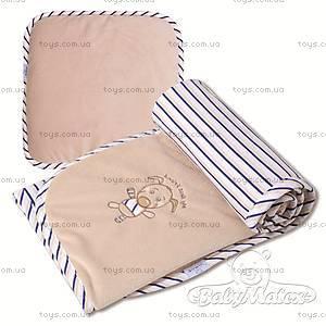 Набор одеяло и подушка Best Friend, бежевый, 0192-16