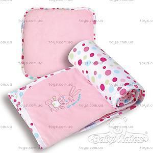 Набор подушка и одеяло Best Friend, розовый, 0192-10