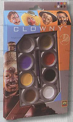 Набор красок для грима «Аква», 9665S