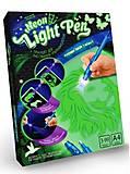Набор креативного творчества «Neon Light Pen» Лев, NLP-01-01U, фото