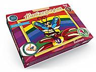 Набор креативного творчества «Ниткография-Бабочка», NG-01-08, интернет магазин22 игрушки Украина