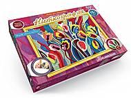 Набор креативного творчества «Ниткография-Тюльпаны», NG-01-06, детские игрушки