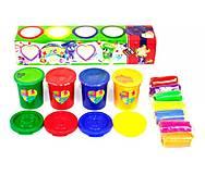 Набор креативного творчества «Пальчиковые краски + тесто для лепки», PK-03-01