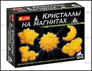 Набор «Кристаллы на магнитах», желтый, 12126001Р