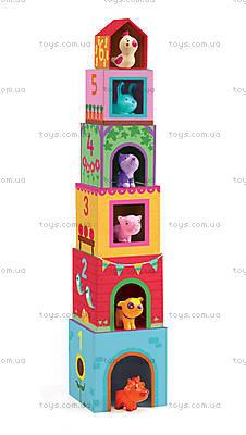 Набор кубиков «Топанимо ферма», DJ09108, фото