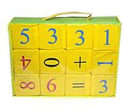 Набор кубиков «Математика», , фото