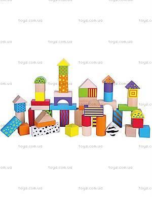 Детский набор обучающих кубиков от Viga Toys, 59695