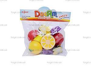Набор «Кухня. Овощи и фрукты», 6688-2A, игрушки