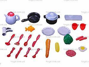Набор «Кухня» с плитой и аксессуарами, 663F, купить
