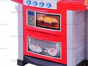 Набор «Кухня» с плитой и аксессуарами, 663F, фото